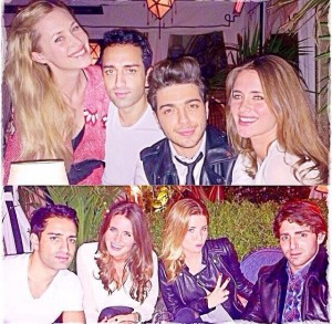 Gianluca and friends