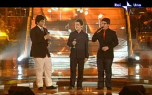 Ignazio, Gianluca and Piero