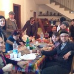 Daily Feb 2, 2014 - Piero and family and friends