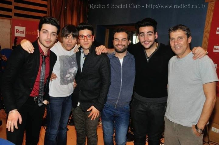 Il Volo on Radio 2 Social Club