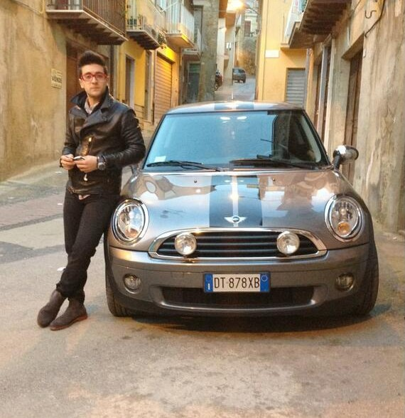 photo of Gianluca Ginoble Mini Cooper - car
