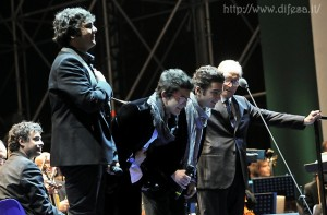 Ennio Morricone and Il Volo