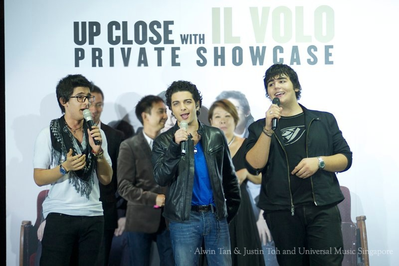 Il Volo showcase in Singapoure 2011