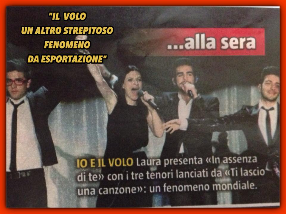 Il Volo on Sorrisi e Canzone TV