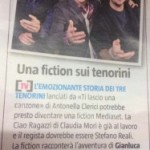 Il Volo on a Mediaset fiction