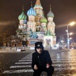Gianluca at Red Square