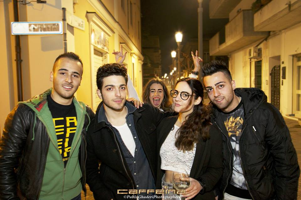 Photo of Gianluca Ginoble & his friend   -
