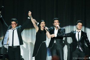 Il Volo and Laura Pausini