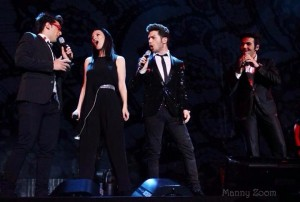 Laura Pausini and Il Volo