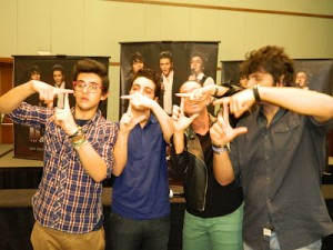 Il Volo and Claudia Tenorio on RedeVida