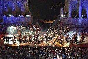 Il Volo in Taormina July 20, 2014