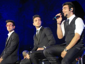 Il Volo concert in Taormina July 20, 2014