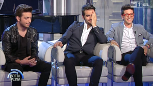 Il Volo on Porta Porta June 4, 2014
