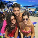 Anna, Gianluca and Cristiana