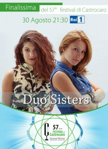 Duo Sisters on the final of Castrocaro 2014