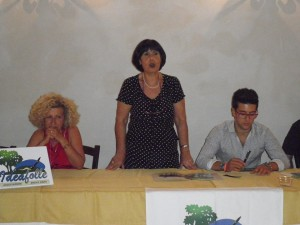 Ideafolle receiving Piero Barone