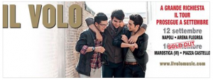 Il Volo concert sold out