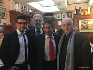 Piero Barone, Placido Domingo, Placido Francisco Domingo, Daniel Barenboim