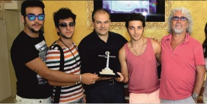 Il Volo awarded on the press conference of Premio Caccuri 2013