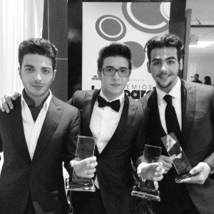 Piero and Il Volo on the Latin Billboards 2014
