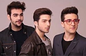 Il Volo screenshot of TV Sorrisi video