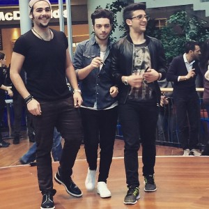 Il Volo signing session Marcianise