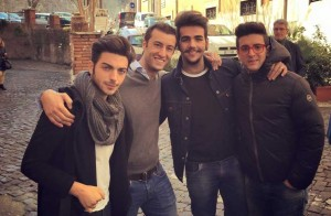 Nicola Caligiore and Il Volo