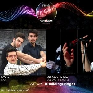 Il Volo building bridges