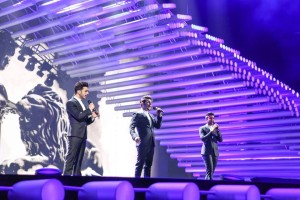 Il Volo first rehearsal Eurovision
