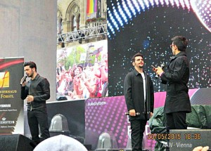Il Volo at Eurovillage