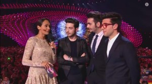 Il Volo interview - 2nd semifinal