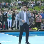 Il Volo on the ZDF Fernsehgarten