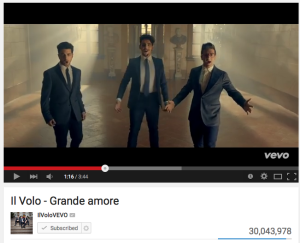 Grande Amore - more than 30 million