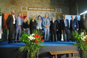 Gianluca Ginoble received a recognition in Abruzzo