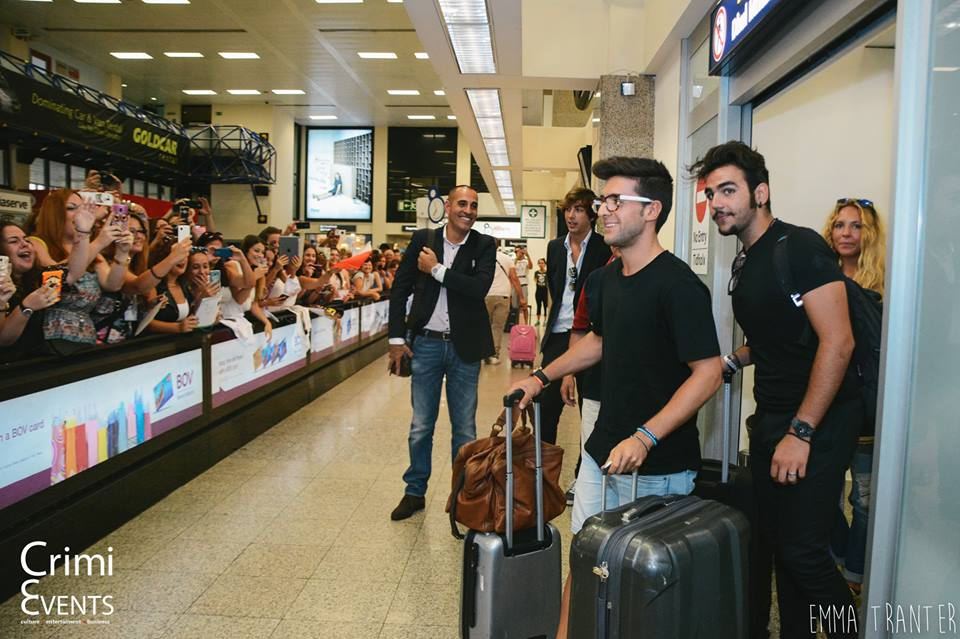 Il Volo in Malta - the arrival