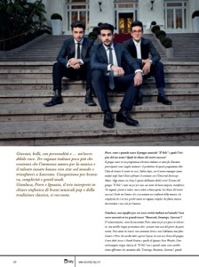 Il Volo interview - e-italy magazine - Italiano