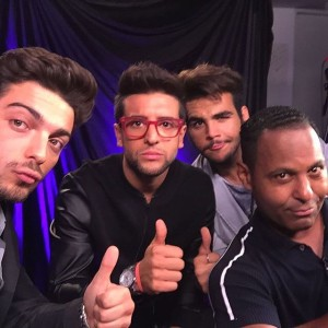 Il Volo and Tony Dandrades