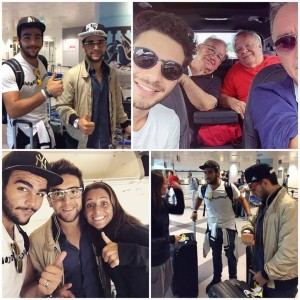 Il Volo arrives in Italy