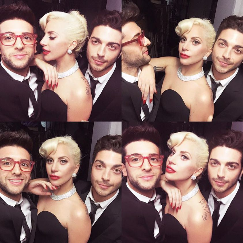 Il Volo and Lady Gaga
