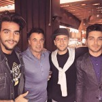 Il Volo and Jean Alesi