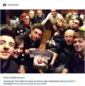 Gianluca's 21 birthday