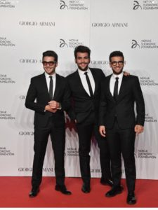 Il Volo - Novak Djocovik Foundation Galla Dinner