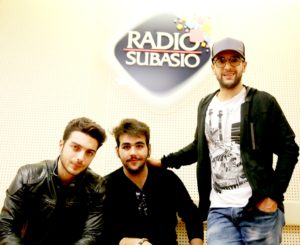 Il Volo at Radio Subasio