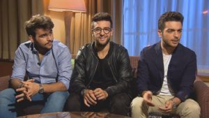 Il Volo on Wysokie C polish tv 23 ottobre 2016