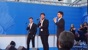 Il Volo on De Cecco Birthday celebration