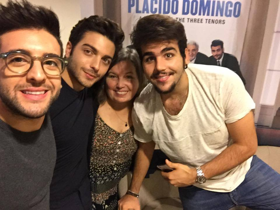 suzana interiew to il volo november 1st 2016