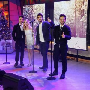 Il Volo Jackie Evancho The Today Show December 14th 2016