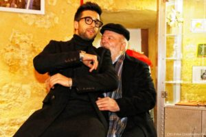 Piero and his Grandad - HouseTeca 23 december 2016