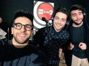 Il Volo on Radio 2