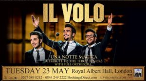 Il Volo Royal Albert Hall announcement